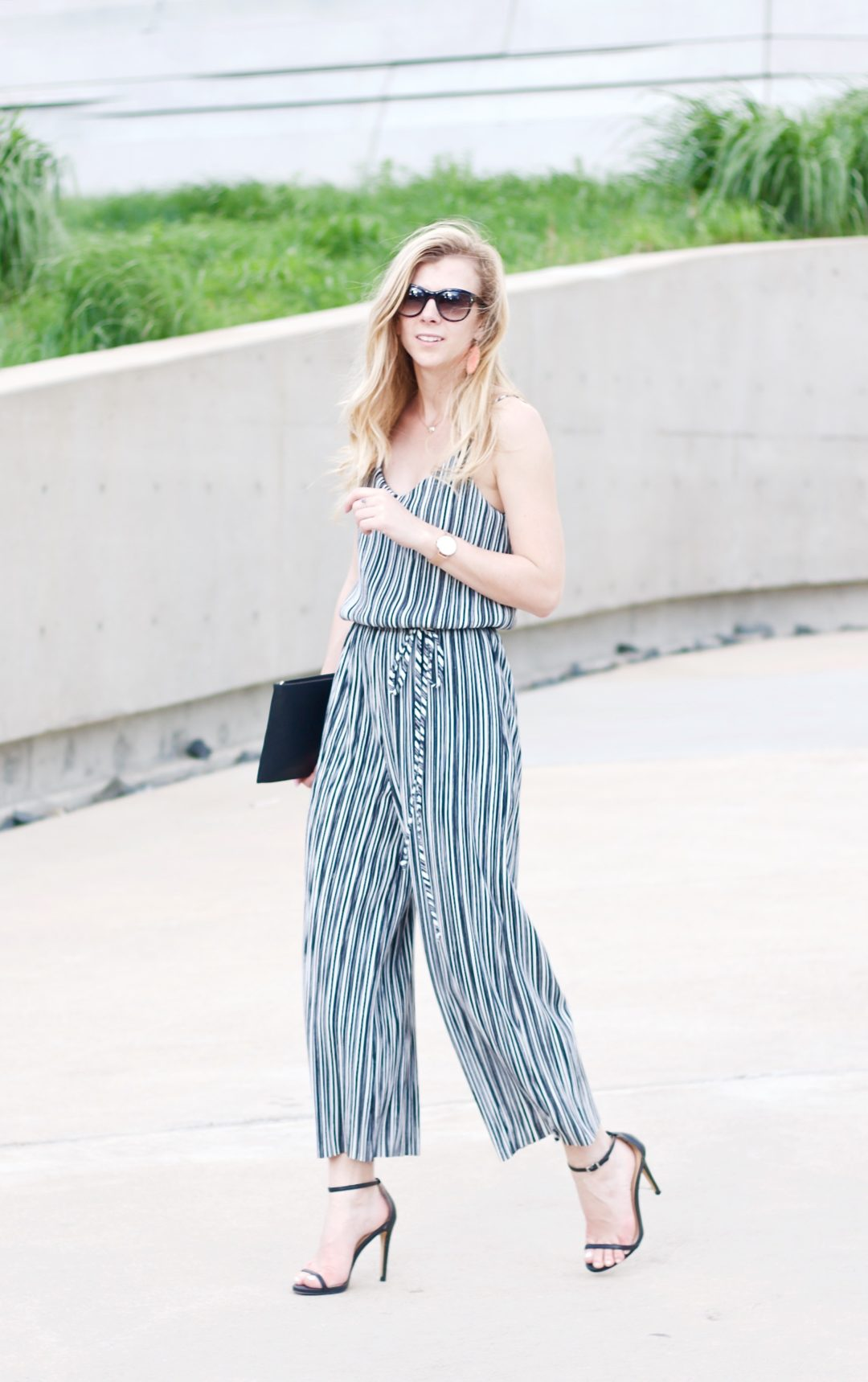 Striped Jumpsuit for A Wedding